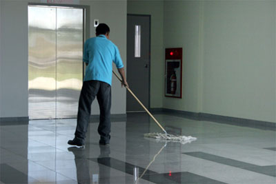 janitorial - mopping
